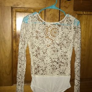 Vintage Nasty Gal bodysuit with clasp